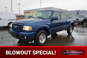 2011 Ford Ranger SUPERCAB SPORT Accident Free,  A/C,