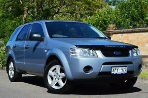 2007 Ford Territory SY TS Silver 4 Speed Sports Automatic Wagon Thorngate Prospect Area Preview