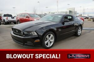 2014 Ford Mustang GT 6 SPEED 5.0L V8 Accident Free,  Rear DVD,