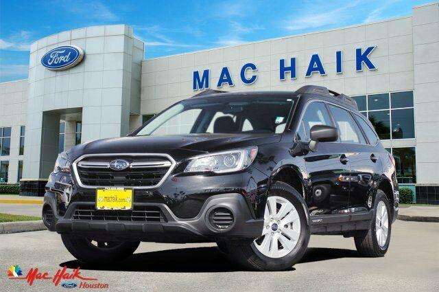 2018 Subaru Outback 2.5I 31106 Miles Crystal Black Pearl Sport Utility Regular U
