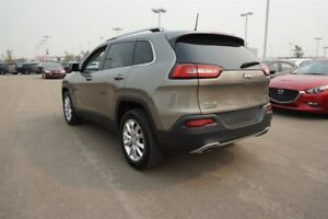 2017 Jeep Cherokee 4WD LIMITED Leather,  Heated Seats,  Back-up