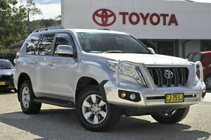 2014 Toyota Landcruiser Prado KDJ150R MY14 GXL Silver 5 Speed Sports Automatic Wagon Lisarow Gosford Area Preview
