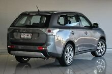 2014 Mitsubishi Outlander ZJ MY14.5 ES 4WD Grey 6 Speed Constant Variable Wagon Southport Gold Coast City Preview