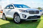 2018 Kia Sorento UM MY18 SI (4x2) Clear White 8 Speed Automatic Wagon Wangara Wanneroo Area Preview