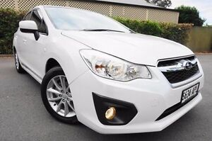 2012 Subaru Impreza G4 MY12 2.0i-L Lineartronic AWD White 6 Speed Constant Variable Sedan Glenelg East Holdfast Bay Preview