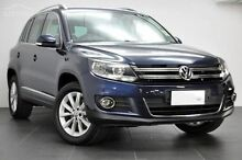 2015 Volkswagen Tiguan 5N MY16 132TSI DSG 4MOTION Blue 7 Speed Sports Automatic Dual Clutch Wagon Launceston Launceston Area Preview