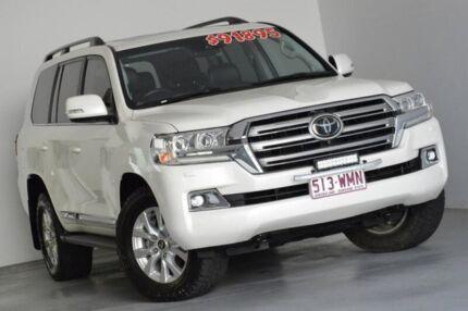 2016 Toyota Landcruiser VDJ200R Sahara White 6 Speed Sports Automatic Wagon Kedron Brisbane North East Preview