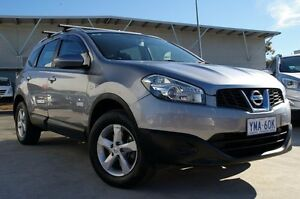 2012 Nissan Dualis J107 Series 3 MY12 +2 Hatch X-tronic 2WD ST Grey 6 Speed Constant Variable Pearce Woden Valley Preview