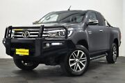 2016 Toyota Hilux GUN126R SR5 Extra Cab Grey 6 Speed Manual Utility Edgewater Joondalup Area Preview