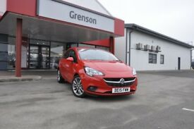VAUXHALL CORSA 1.2 EXCITE AC 3DR (red) 2015