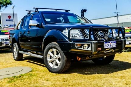 2010 Nissan Navara D40 ST-X Black 6 Speed Manual Utility Wangara Wanneroo Area Preview