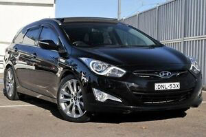 2011 Hyundai i40 VF Premium Tourer Black 6 Speed Sports Automatic Wagon Gosford Gosford Area Preview