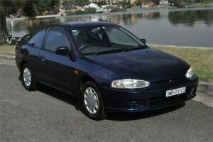 2000 Mitsubishi Lancer CE GLi Blue 4 Speed Automatic Coupe