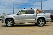 2013 Volkswagen Amarok 2H MY14 TDI420 4Motion Perm Ultimate Billet Silver 8 Speed Automatic Utility Mandurah Mandurah Area Preview