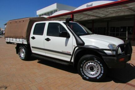 2004 Holden Rodeo RA LX (4x4) 5 Speed Manual Crew Cab Chassis Bunbury Bunbury Area Preview