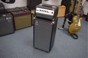 **AWESOME** Ampeg Micro VR 200w Bass Head + SVT210AV Cab Stack