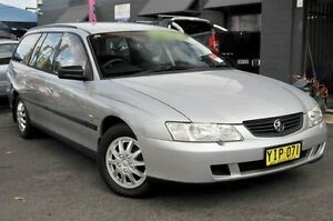 2002 Holden Commodore VY Executive Silver 4 Speed Automatic Wagon North Gosford Gosford Area Preview