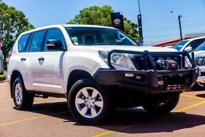 2014 Toyota Landcruiser Prado KDJ150R MY14 GX White 6 Speed Manual Wagon