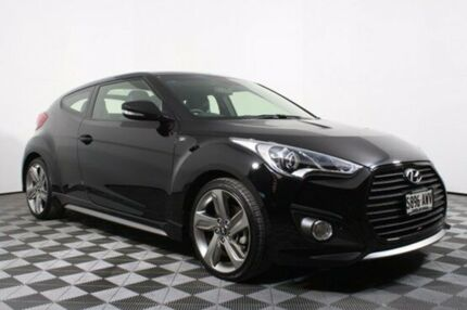 2013 Hyundai Veloster FS2 SR Coupe Turbo Black 6 Speed Manual Hatchback