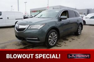 2015 Acura MDX ALL WHEEL DRIVE Navigation (GPS),  Leather,  Heat