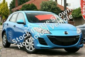 2010 Mazda 3 BL10F1 Neo Activematic Blue 5 Speed Sports Automatic Hatchback Tweed Heads Tweed Heads Area Preview