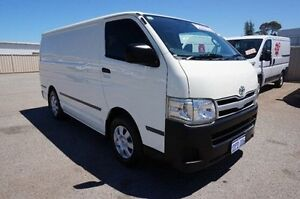 2011 Toyota Hiace TRH201R MY11 LWB White 5 Speed Manual Van Pearsall Wanneroo Area Preview