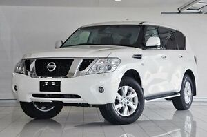 2016 Nissan Patrol Y62 Series 3 TI-L White 7 Speed Sports Automatic Wagon Southport Gold Coast City Preview