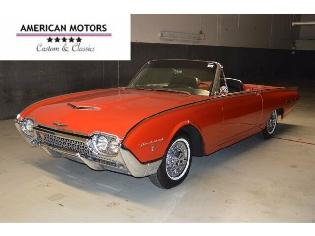 1962 Ford Thunderbird Incredible Restoration Gorgeous