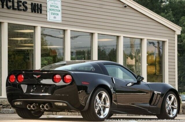 2010 Black Chevrolet Corvette Grand Sport 3LT | C6 Corvette Photo 9