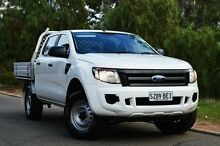 2014 Ford Ranger PX XL Double Cab White 6 Speed Sports Automatic Cab Chassis Thorngate Prospect Area Preview
