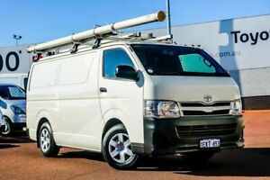 2013 Toyota HiAce KDH201R MY12 LWB White 5 Speed Manual Van Balcatta Stirling Area Preview