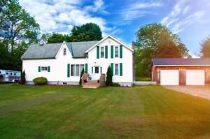 Beautiful Country Home and 28 acre Hobby Farm