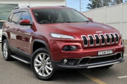 2015 Jeep Cherokee KL MY15 Limited Red 9 Speed Sports Automatic Wagon