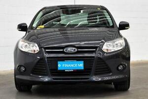 2012 Ford Focus LW MKII Trend PwrShift Grey 6 Speed Sports Automatic Dual Clutch Sedan