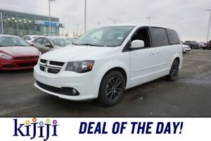 2017 Dodge Grand Caravan GT STOW&GO Accident Free,  Leather,  He