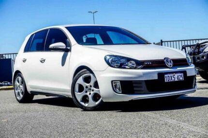 2012 Volkswagen Golf 1K MY12 GTi White 6 Speed Direct Shift Hatchback