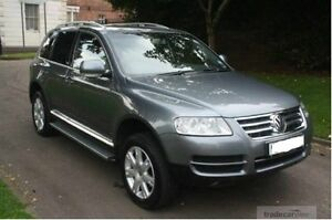2006 Volkswagen Touareg TDI Grey 6 Speed Automatic Wagon Biggera Waters Gold Coast City Preview