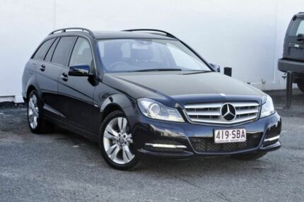 2011 Mercedes-Benz C200 CDI W204 MY11 BlueEFFICIENCY Estate 7G-Tronic + Avantgarde Blue 7 Speed Tweed Heads South Tweed Heads Area Preview