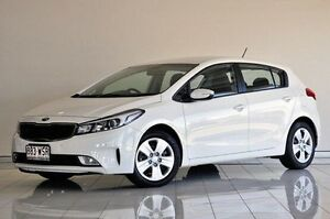 2016 Kia Cerato YD MY17 S White 6 Speed Sports Automatic Hatchback Southport Gold Coast City Preview