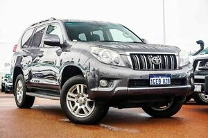 2012 Toyota Landcruiser Prado KDJ150R VX Grey 5 Speed Sports Automatic Wagon Westminster Stirling Area Preview
