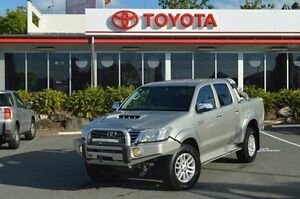 2012 Toyota Hilux Silver Manual Utility Highland Park Gold Coast City Preview