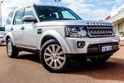 2015 Land Rover Discovery Series 4 L319 MY15 TDV6 Silver 8 Speed Sports Automatic Wagon Balcatta Stirling Area Preview