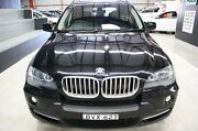 2008 BMW X5 E70 MY09 xDrive48i Steptronic Black 6 Speed Sports Automatic Wagon Maryville Newcastle Area Preview