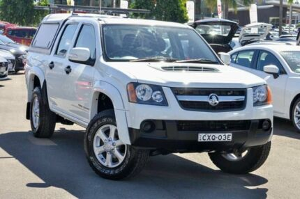 2011 Holden Colorado RC MY11 LX-R Crew Cab White 5 Speed Manual Utility