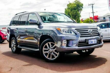 2015 Lexus LX570 URJ201R MY15 Grey 6 Speed Sports Automatic Wagon Osborne Park Stirling Area Preview
