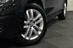 2012 Volkswagen Golf VI MY13 103TDI DSG Comfortline Black 6 Speed Sports Automatic Dual Clutch