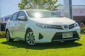 2013 Toyota Corolla ZRE182R Ascent S-CVT White 7 Speed Constant Variable Hatchback Wangara Wanneroo Area Preview