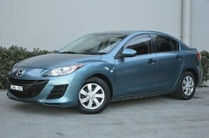 2010 Mazda 3 BL10F1 Neo Activematic Blue 5 Speed Sports Automatic Sedan South Maitland Maitland Area Preview