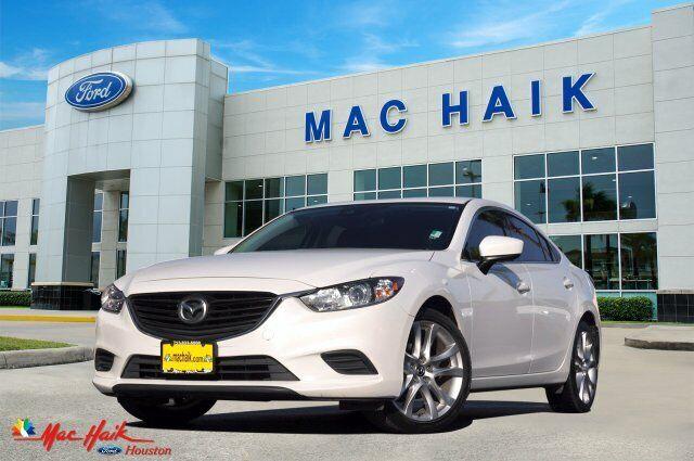 2017 Mazda Mazda6 Touring 45875 Miles Snowflake White Pearl Mica 4dr Car Regular