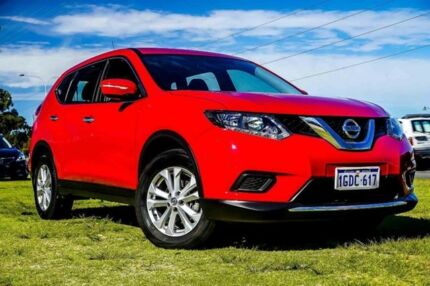 2016 Nissan X-Trail T32 ST X-tronic 2WD Burning Red 7 Speed Constant Variable Wagon